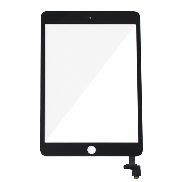 Touch Screen Digitizer W Ic Control Circuit Logic Board Flex Cable Ipad Mini 3 Black on broken screen samsung galaxy s5