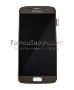 OEM Screen Replacement for Samsung Galaxy S7 - Gold