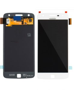 OEM Screen Replacment For Moto Z Play (XT1635) - White