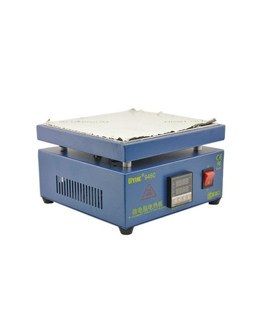 946C Electronic Hot Plate Preheating Station for PCB SMD Heating Work 220//110V
