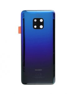 For Huawei Mate 20 Pro Back Cover with Camera Lens Replacement - Twilight