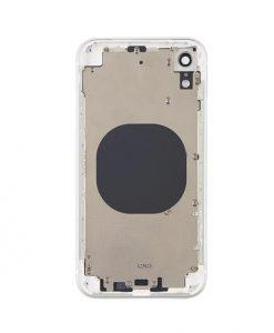 iphone xr rear housing white