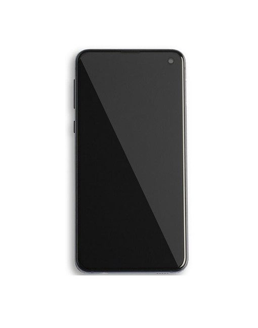 galaxy s10e screen with frame