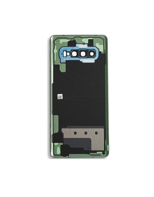 OEM Battery Cover with Camera Glass for Samsung Galaxy S10 Plus - Prism Blue