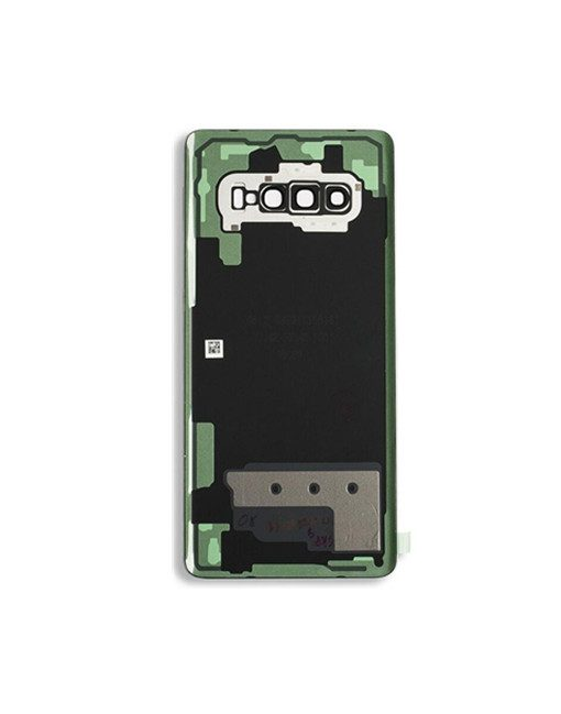 OEM Battery Cover with Camera Glass for Samsung Galaxy S10 Plus - Prism White
