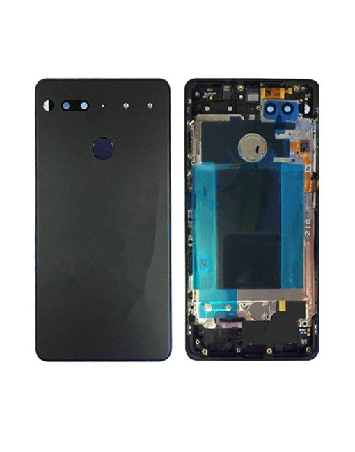 For Essential Phone Ph-1 Back Cover Replacement - Black