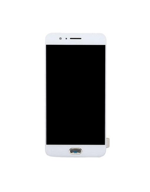 OEM Screen and Digitizer Assembly With Frame Replacement For OnePlus 5 - White