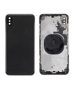 For iPhone XS Max Rear Housing Replacement - Black