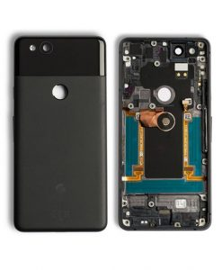 For Google Pixel 2 Back Housing Replacement - Black