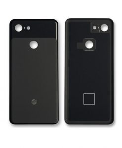 For Google Pixel 3 Back Cover Replacement - Black