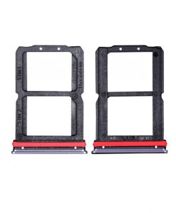 For OnePlus 7 Sim Card Tray Replacement - Black