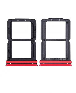 For OnePlus 7 Sim Card Tray Replacement - Red