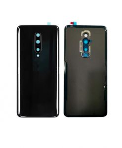 For Oneplus 7 Pro Battery Cover with Camera Glass Replacement - Black