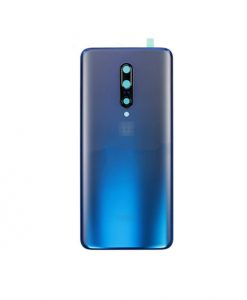 For Oneplus 7 Pro Battery Cover with Camera Glass Replacement - Blue