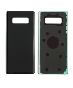 For Samsung Galaxy Note 8 Back Cover Replacement - Midnight Black