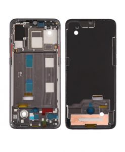 For Xiaomi Mi 9 Front Housing Display Frame Replacement - Black