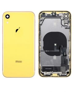 For iPhone XR Rear Housing Full Assembly Replacement - Yellow