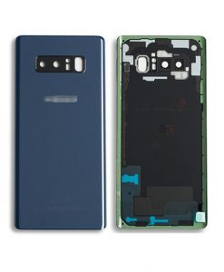 OEM Back Glass With Camera Lens for Samsung Galaxy Note 8 - Deepsea Blue