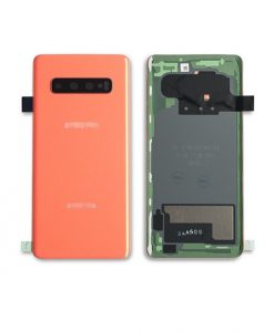 OEM Battery Cover with Camera Glass for Samsung Galaxy S10 - Flamingo Pink