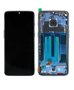 OEM Screen Replacement With Frame For OnePlus 7 - Blue