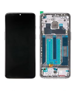 OEM Screen Replacement With Frame For OnePlus 7 - Midnight Black