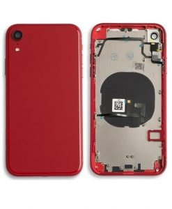 Rear Housing Replacement with Buttons for iPhone XR - Red