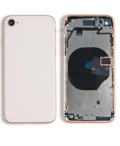 Rear Housing with Buttons for iPhone 8 - Gold