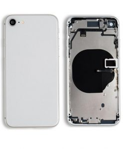 Rear Housing with Buttons for iPhone 8 - Silver