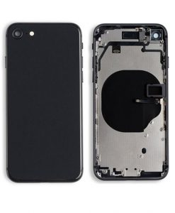 Rear Housing with Buttons for iPhone 8 - Space Grey