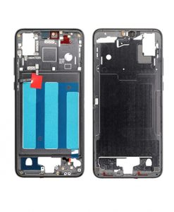 Replacement Front Housing Middle Frame for Huawei P20 - Black