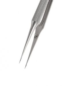 Tungsten Steel Straight Tweezers