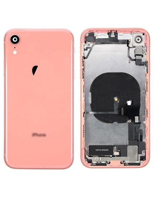 For iPhone XR Rear Housing Full Assembly Replacement - Coral