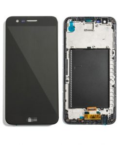 LCD Display Touch Screen Digitizer Assembly with Frame For LG K20 Plus - Black