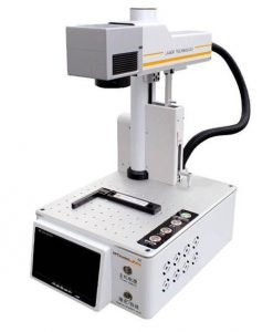 M-Triangel PG oneS 20W Fiber Laser Engraver Machine LCD Cutting Engraving Printting Machine For iPhone Back Cover