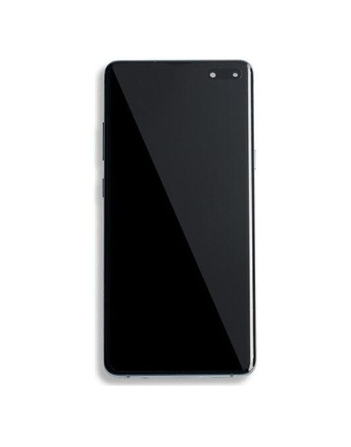 OLED Display with Frame Assembly for Galaxy S10 5G - Majestic Black