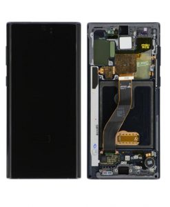 OLED Display with Frame Assembly for Samsung Galaxy Note 10 - Black