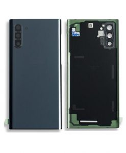 OEM Back Glass with Camera lens For Galaxy Note 10 - Aura Black