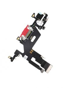 OEM Charging Port Flex Cable For iPhone 11 - Red