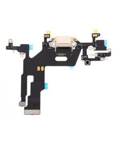 OEM Charging Port Flex Cable For iPhone 11 - White