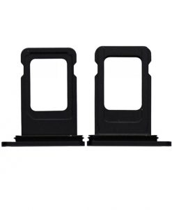 Sim Card Tray For iPhone 11 - Black