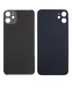 Back Glass Replacement For iPhone 11 - Black