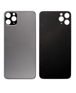 Back Glass Replacement For iPhone 11 Pro Max - Space Gray