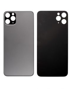 Back Glass Replacement For iPhone 11 Pro - Space Gray