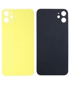 Back Glass Replacement For iPhone 11 - Yellow