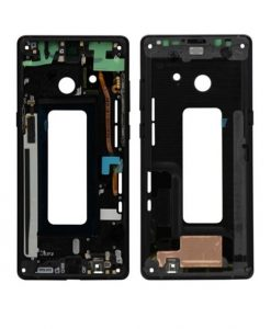 Mid Frame Replacement For Samsung Galaxy Note 8 - Black