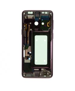 Mid Frame Replacement For Samsung Galaxy S9 - Purple