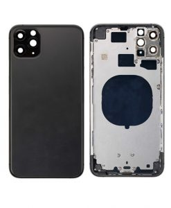 Rear Housing with Frame Replacement For iPhone 11 Pro Max - Space Gray