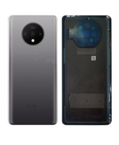 OEM Back Cover with Camera Lens Replacement For Oneplus 7T - Silver