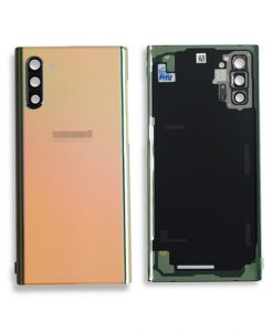 OEM Back Glass with Camera lens For Galaxy Note 10 - Glow