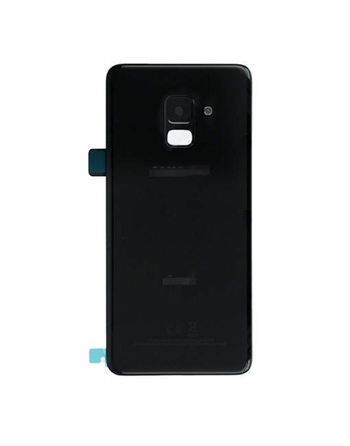For Galaxy A8 2018 Battery Cover with Camera Glass Replacement - BlackFor Galaxy A8 2018 Battery Cover with Camera Glass Replacement - Black